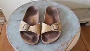 Birkenstock Sandals gold-colored
