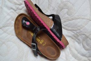 Birkenstock Zapatillas para casa negro-rosa
