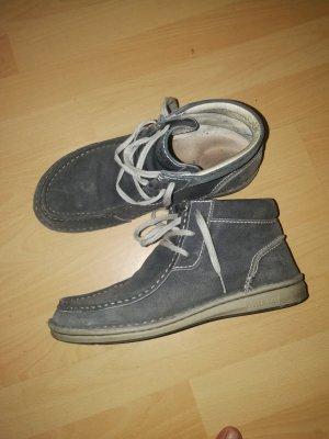 Birkenstock Lace Shoes slate-gray