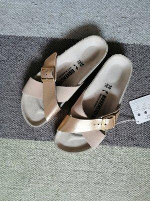 Birkenstock Comfort Sandals gold-colored-taupe
