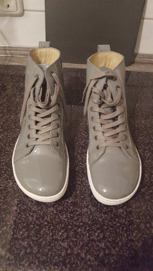 Birkenstock Sneakers met veters grijs