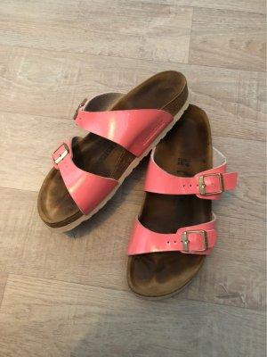 Birkenstock Comfort Sandals neon orange-salmon