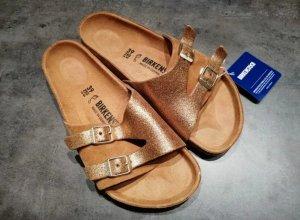 Birkenstock Comfort Sandals gold-colored-brown