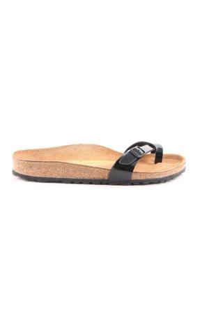 Birkenstock Toe-Post sandals light orange-black casual look