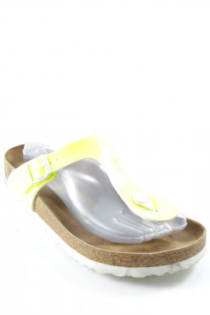 Birkenstock Toe-Post sandals multicolored simple style