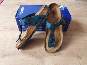 Birkenstocks in Midnight Blue (limitierte Farbe) zu verkaufen