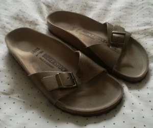 Birkenstock Comfort Sandals bronze-colored-gold-colored