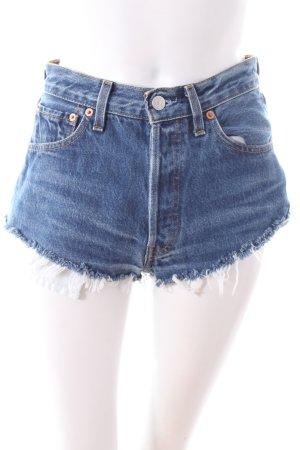 Bitching and Junkfood.com Shorts mit Nieten