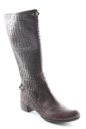 Biviel Absatz Stiefel braun extravaganter Stil