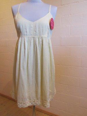 BIXBY&JADE: Tunika/Kleid in lichtgelb, Gr. 36, NEU
