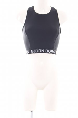"""Björn Borg Cropped Top """"CROPPED TANK CLARY"""" schwarz"""