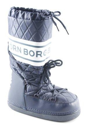 Björn Borg Snowboots dunkelblau extravaganter Stil