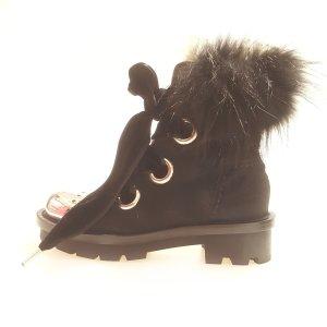 Alexander McQueen High Boots black
