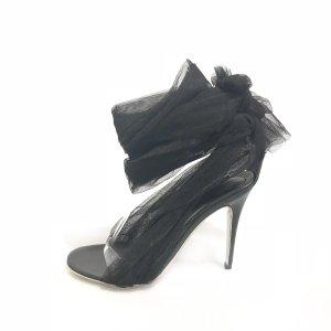 Alexander McQueen High-Heeled Sandals black