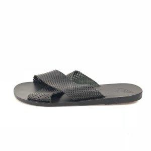 Ancient greek sandals Sandales noir
