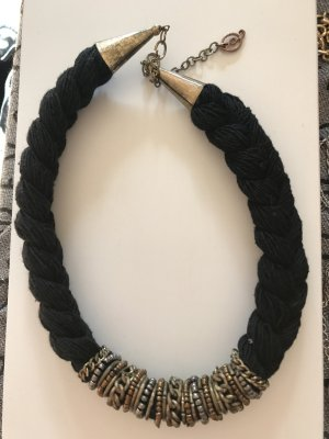 Collar estilo collier multicolor acero inoxidable
