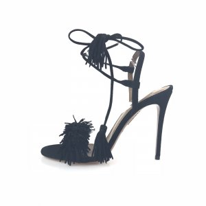 Aquazzura High-Heeled Sandals black