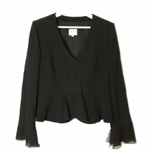 Black  Armani Collezioni Blazer