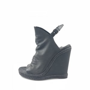 Balenciaga Espadrille sandalen zwart
