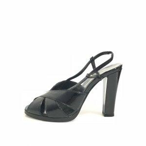 Balenciaga High-Heeled Sandals black