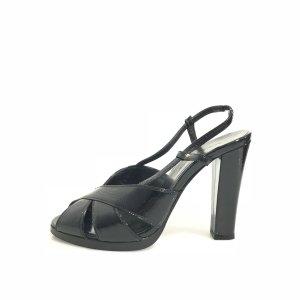 Balenciaga Sandalo con tacco alto nero
