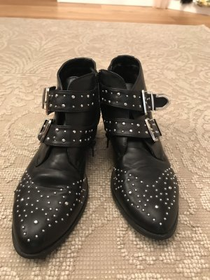 Pimkie Short Boots black-silver-colored
