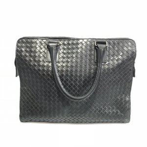 Black  Bottega Veneta Briefcase
