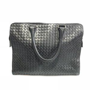 Black  Bottega Veneta Briefcase