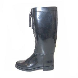 Black  Burberry Boot