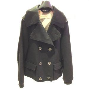 Black  Burberry Coat