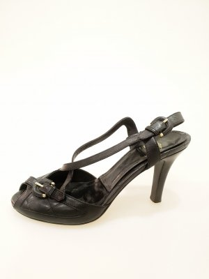Black  Burberry High Heel