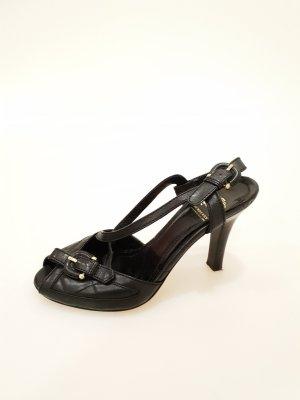 Burberry High-Heeled Sandals black