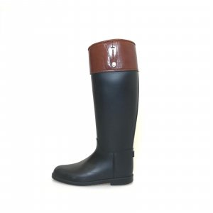 Black  Burberry Rain & Snow Boot