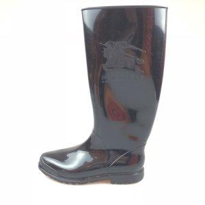 Black  Burberry Rain & Snow Boot