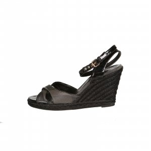 Black  Burberry Sandal