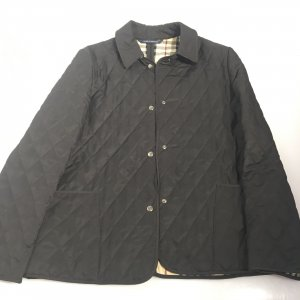 Black  Burberry Trench Coat