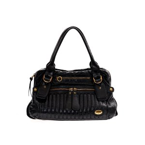 Black  Chloe Shoulder Bag