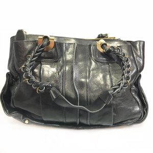 Black  Chloe Shoulder Bag