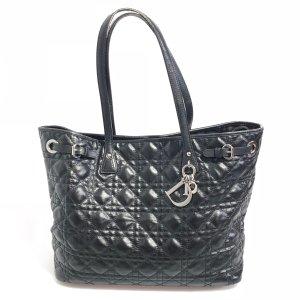 Black  Christian Dior Shoulder Bag