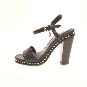 Coach High-Heeled Sandals black