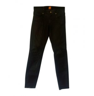 Boss Orange Stretch jeans zwart Gemengd weefsel