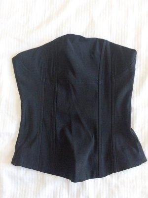 Corsage topje zwart