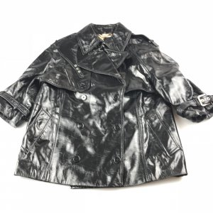 Black  Dolce & Gabbana Leather Jacket