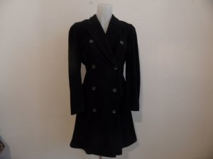 Black Dress Mantel Schwarz Gr.38/40 Schurwolle Mohair