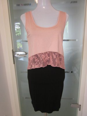 Black Dust Pink Kleid Neu Gr M Doppellagig