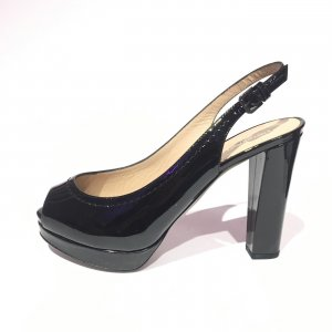 Black  Emporio Armani High Heel