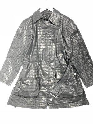 Black  Emporio Armani Trench Coat