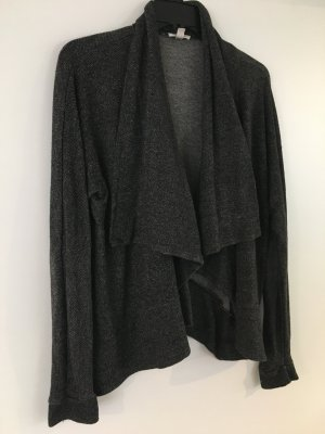 Black Feather Cardigan