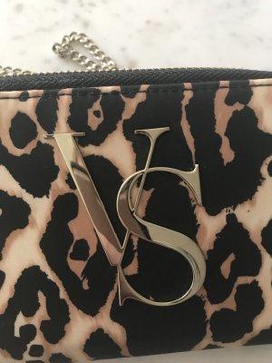 Victorias Secret Umhängetasche Leopard mit Geldbörse und Handytasche