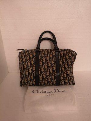 Christian Dior Sac à main noir-bleu foncé